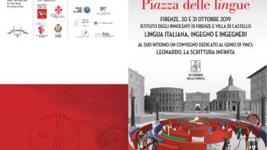 Photo of FIRENZE – Accademia della Crusca, al via Piazza delle Lingue 2019