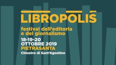 Photo of PIETRASANTA – Terza edizione del festival Libropolis dal 18 al 20 ottobre