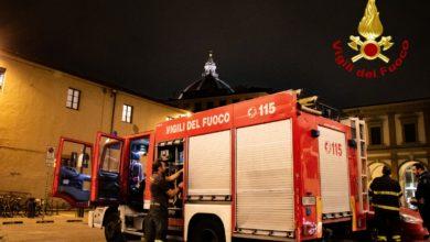 Photo of FIRENZE – Vigili del Fuoco in azione a Santa Maria Nuova