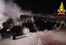 Photo of AREZZO – A fuoco autocarro che trasportava vernici su SR 71