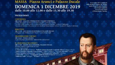 Photo of MASSA – Gran Ballo di Cosimo I, una giornata di conferenze, cortei storici e balli rinascimentali