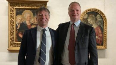 Photo of Uffizi e Siena: un patto per l'arte, a Firenze l'incontro tra il direttore Schmidt e il sindaco di Siena Luigi De Mossi