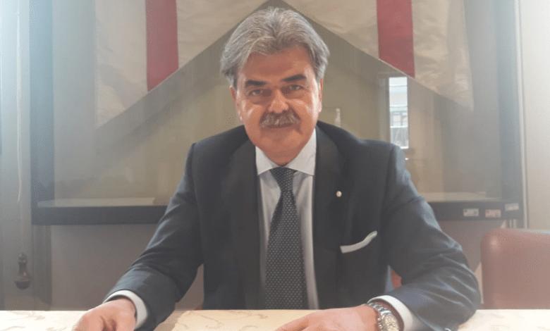Maurizio Marchetti gonfalone