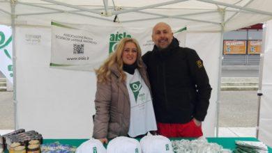 AISLA Firenze a Scandicci, Barbara Gonella con il sindaco Sandro Fallani