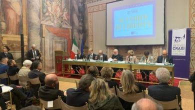 Photo of Accordi di Libertà, convegno della Fondazione Craxi alla Sala Zuccari