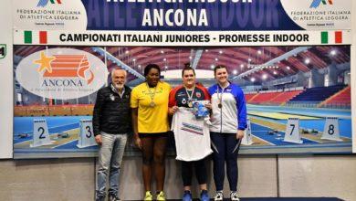 Photo of Alga Atletica Arezzo, Chiara Salvagnoni vince un bronzo tricolore nel lancio del peso