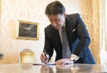 """Photo of Giuseppe Conte: """"Chiusura di tutte le attività commerciali"""""""