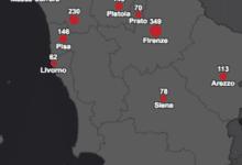 Photo of Aggiornamento bollettino Coronavirus Toscana, 152 nuovi casi di Covid-19 – MAPPA
