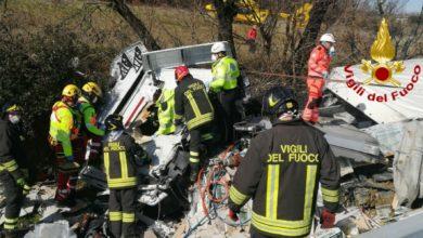 Photo of AREZZO – Incidente in A1 tra Arezzo e Monte San Savino, Vigili del Fuoco e Pegaso in azione