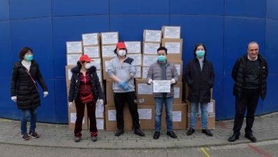 Photo of AREZZO – Guanti, tute e mascherine donati dalla comunità cinese