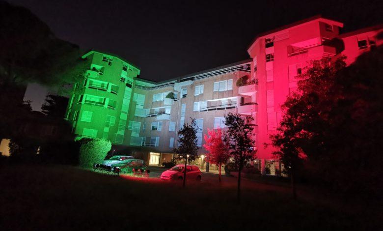 Firenze sede Enel tricolore 1