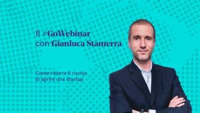 Photo of Aprire una startup senza rischi: segui il GoWebinar con Gianluca Stamerra – 14 aprile