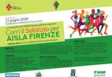 Corri il Solstizio per AISLA Firenze_copertina