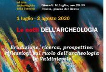 Photo of PESCIA – Notti dell'archeologia: giovedì 16 luglio la conferenza di Francesco Tanganelli