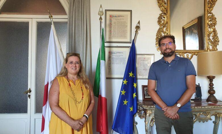 Barbara Gonella (AISLA Firenze) e Lorenzo Andreoni (CRI Firenze)
