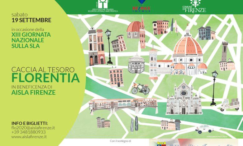 Caccia al Tesoro Florentia 2020 locandina