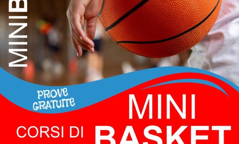 Corsi di Minibasket, locandina APD Santo Stefano