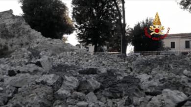 Photo of PISTOIA – Crollata una parte delle mura medioevali, Vigili del Fuoco e cinofili sul posto