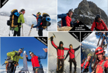 Photo of LUCCA – Andrea Lanfri, si conclude il tour estivo: 5 vette, due uomini e una sola gamba