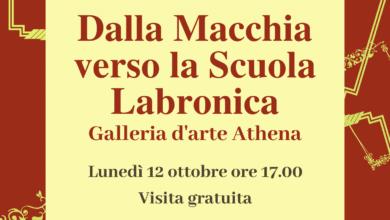 """Photo of LIVORNO – Visita guidata il 12 ottobre alla mostra """"Dalla macchia verso la Scuola Labronica"""""""