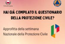 Photo of LUCCA – Settimana nazionale Protezione Civile: cittadini possono contribuire compilando il questionario