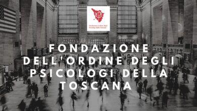 Fondazione Ordine degli Psicologi Toscana copertina