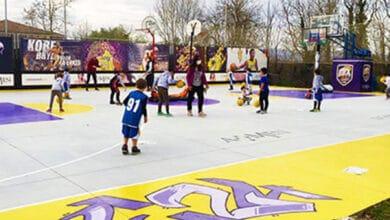 Scuola Basket Arezzo Minibasket play ground 1