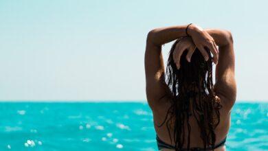 caldo estate sudore mare vacanza