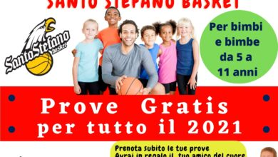 APD Santo Stefano minibasket 02.09.2021
