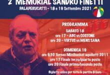 locandina memorial sandro finetti
