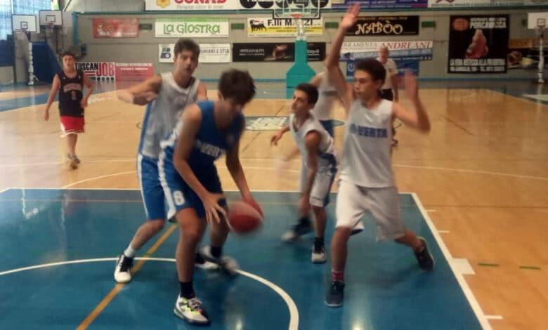Scuola Basket Arezzo Under15 Rosini 1